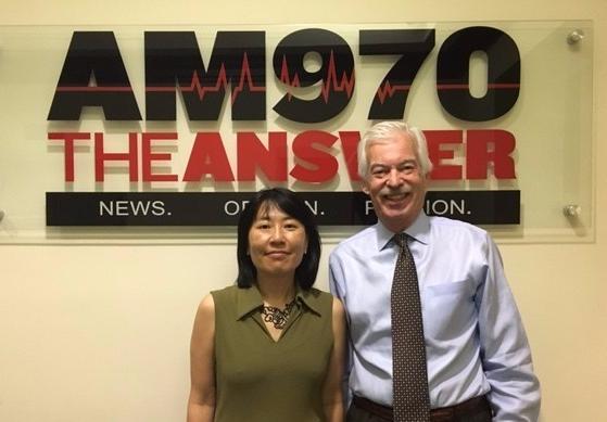 Mari Kuraishi and Denver Frederick